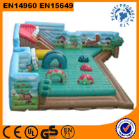 Large Inflatable Fun City For Kids