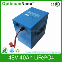 Long time cycle electric vehicle battery pack 48v 40ah
