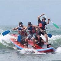 wholesale drop stitch inflatable air mat with sup shape