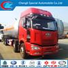 faw 6x4 34.5cbm lpg tanker transportation truck for sale