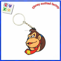 New design fashion style Monkey charm keychain, emoji keychain, cool keychain