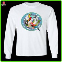 Sublimation full sleeve sports t-shirt