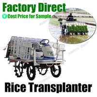 Paddy Seedling Chinese Factory Rice Transplanting Machine Riding Type Transplanter Machine 2Z-6B2