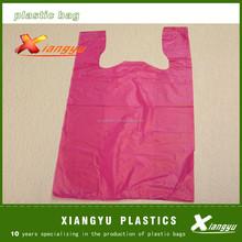 environment friendly t -shirt poly shopping bags