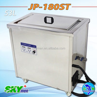 commercial kitchen use soaked stainless steel tank ultrasonic cleaning machine
