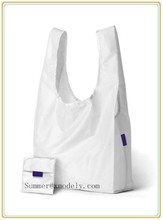 2015 custom printing polyester/ recycle nylon shopping bags