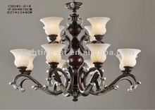 2012 Iron Chandeliers,crystal,CH045-8+4