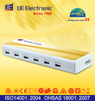 6 ports UL CE PSE SAA CCC GS approved multifunction USB charger