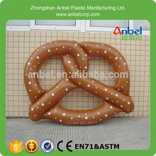 Inflatable Pretzel Ring Beach Play Toy Family Holiday swim float