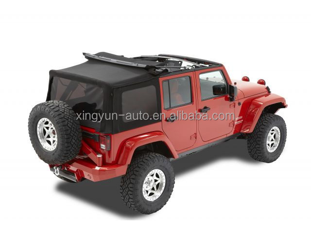 jeep wrangler unlimited jk 4 door 2007 2009 soft top buy soft top 4. Cars Review. Best American Auto & Cars Review