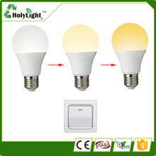 Best price 6w light switches dimmable temperature change economic bulb led e27