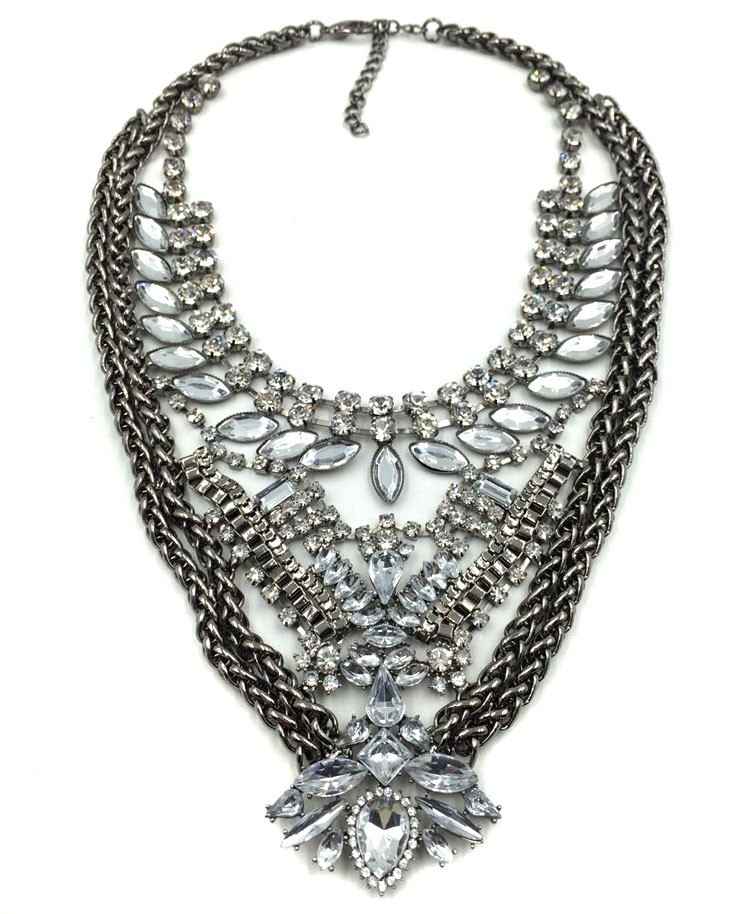 wholesale unique costume stainless steel necklace chunky