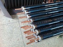 All-glass double -tube structure with copper heat pipe