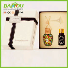 Hot in Malaysia,Australia customized gift set 15ml hanging car air freshener