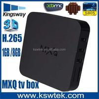 Promotional quad core mxq tv box KODI full loaded 1080p porn video android tv box 4.4.2 arabic iptv tv see bein sport 1