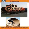 2015 lowest price suspension roller socket rabbet plain joint concrete culvert pipe mould large diameter machine line