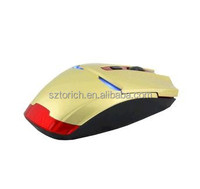 6D 1000DPI Iron Man 6 Buttons X1 Optical Wireless Gaming Mouse