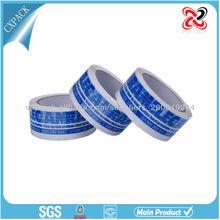 auto-adhesivo de sellado de publicidad engomado cinta impresa