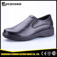 Slip resistant kitchen safety shoes without lace FD3234