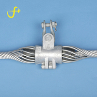 High quality Double Suspension Clamp for ADSS/OPGW