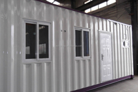 Sandwich Panel steel structure Container house/sandwich panel house 20FT container house container living homes china supplier