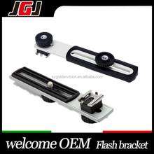 Customize Flashgun Flash Hot Shoe Mount Digital DC Camera Arms Bracket Flash bracket holder for Sony Canon camera Yongnuo flash