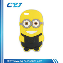 3D Despicable me Silicone Case for iPhone 5,5s,5c