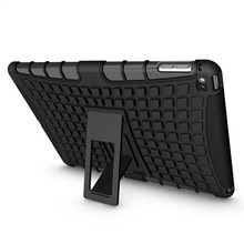 Hybrid Rugged Stand Case For iPad 6, Hybrid Cover Case With Kickstand, Hot New Products