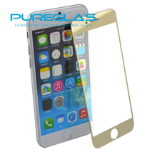 Tempered Glass Film For Apple iPhone 6 Plus Screen Protector, Full Cover Colored Screen Protector For iPhone 6 Plus