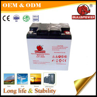 VRLA agm gel battery 12v 12ah with factory price