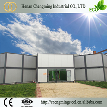 Best price firm antiseismic prefabricated 40ft hydraulic container house