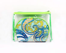 mini Cute Clear pvc beach cosmetic bag
