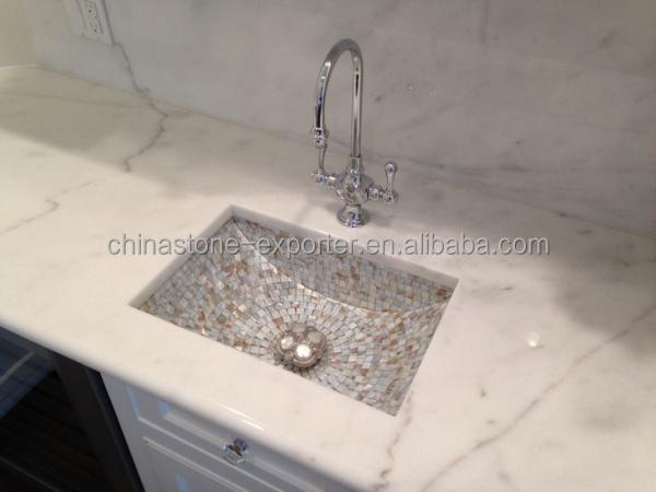 Mooie marmeren aanrecht, keuken aanrechtblad, griekenland steen ...
