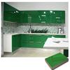 Green high gloss UV paint MDF
