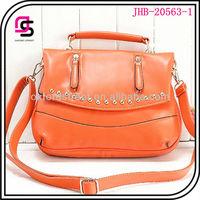 PU leather studded handbag, vintage mini doctor bag,tote bag