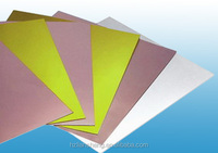 Manufacture of copper clad laminate white /black/yellow color FR4