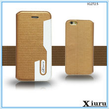 Hot Selling Slim Leather Case Flip Cover for Huawei Ascend P6