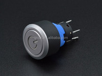 High quality 22-F3 2 step double pole double throw porn push button switch