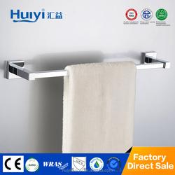 Top sale bathroom brass metal single towel bar chrome HY-07101