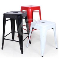 Colorful Steel Chair for Outdoor