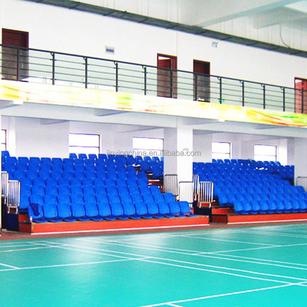 Metal Stadium Seats : Metal telescopic seating system stadium chair back seats