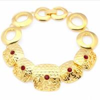 24kt gold bracelet Middle East jewelry bracelet