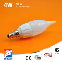 4W dimmable Samsung AC camera light bulb