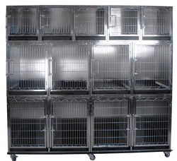 China Jingyun Durable hot sale stainless steel dog cage CTC-1