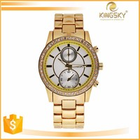 Stainless Steel Sport Quartz Watch Modern Women Fashion Wrist Watch