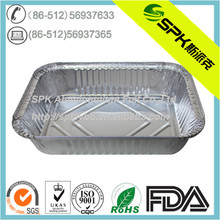 disposable aluminium foil takeout lunch container