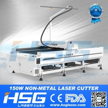 HSG laser acrylic cuttting bed 80w laser cutting head HS-B1325