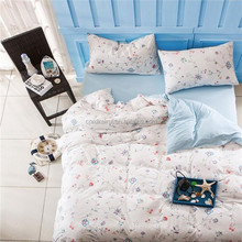 Smile Knitting christmas bedding sets home textile wholesale of Duvet Cover Fitted Sheet Pillowcase