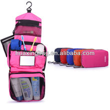 2015 travelling hanging toiletry kits bag with mirror