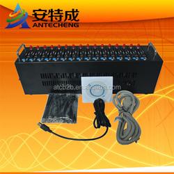 Cheap gsm modem 800/1900mhz gsm modem q2406b 16ports wavecom